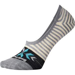 Smartwool Ouray Arrow Hide And Seek No Show Socks - Women's