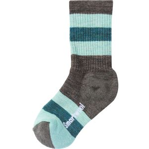 Smartwool Striped Hike Medium Crew - Kids'