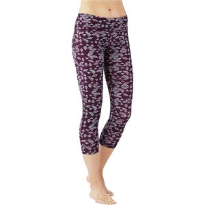 Smartwool PhD Printed Capri Tights - Women's