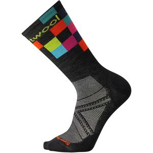 Smartwool PhD Cycle Ultra Light Logo Crew Sock