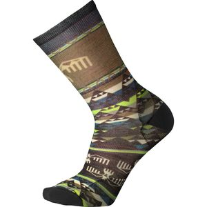 Smartwool Bird Geo Print Crew Sock - Men's