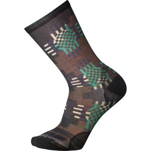 Smartwool Wave Geo Print Crew Sock - Men's