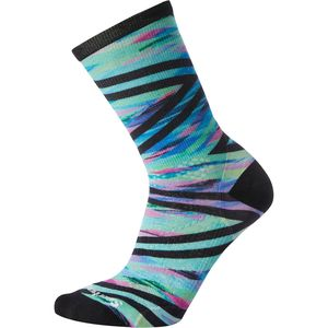 Smartwool PhD Run Ultra Light Print Crew Sock - Women's