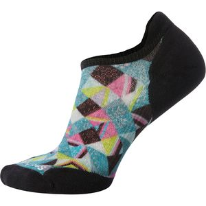 Smartwool PhD Run Light Elite Print Micro Sock - Women's