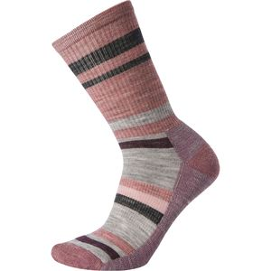 Smartwool Hike Striped Light Crew Sock - Women's
