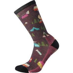 Smartwool Hike Light Summer Nights Print Crew Sock - Women's