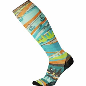 Smartwool PhD Ski Ultra Light 25th Anniversary Print Sock