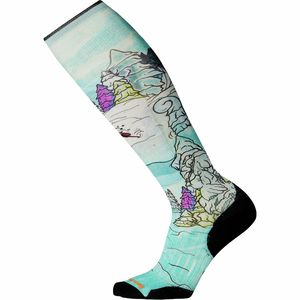 Smartwool PhD Ski Light Elite Pow Days Print Sock