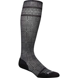 Smartwool Compression Cruise Director Print Over The Calf Sock