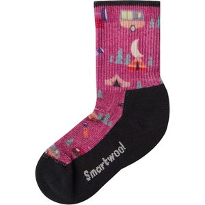 Smartwool Hike Light Summer Nights Print Crew Sock - Kids'