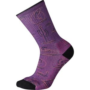 Smartwool Hike Light Down the River Print Crew Sock - Women's