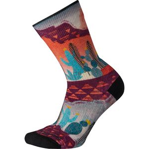 Smartwool PhD Outdoor Light Print Crew Sock - Women's