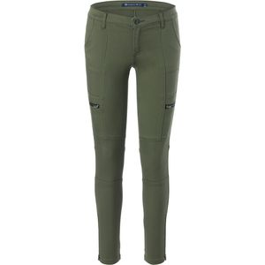 Tractr Slim Fit Cargo Ankle Pant - Women's