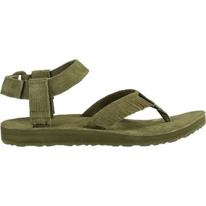 Teva Original Leather Fringe Sandal - Women's
