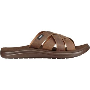 Teva Voya Leather Slide Sandal - Men's
