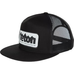 Teton Gravity Research Logo Patch Trucker Hat - Men's