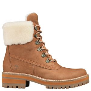 Timberland Courmayeur Valley 6in Authentic Shearling Lining Boot - Women's