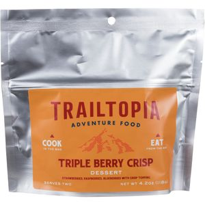 Trailtopia Triple Berry Crisp