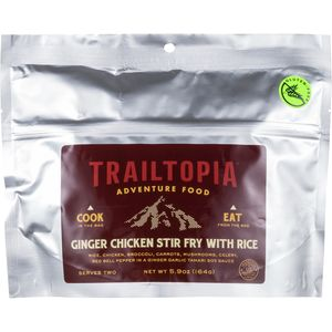 Trailtopia GF Chicken Ginger Stir Fry