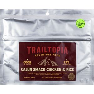 Trailtopia GF Cajun Smack Chicken & Rice