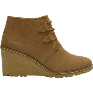 Toms Desert Wedge Boot - Women's
