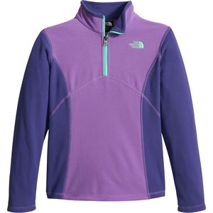 The North Face Glacier 1/4-Zip Fleece Pullover - Girls'