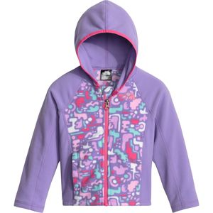 The North Face Glacier Fleece Full-Zip Hoodie - Toddler Girls'