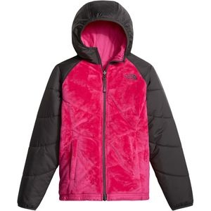 The North Face Perseus Reversible Hooded Fleece Jacket - Girls'