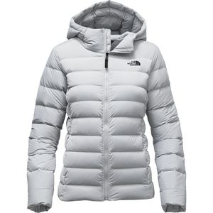 The North Face Stretch Down Hooded Jacket - Women's
