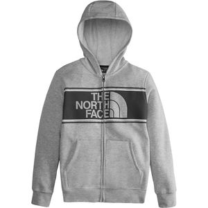 The North Face Logowear Full-Zip Hoodie - Boys'