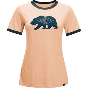 The North Face Natural World Ringer T-Shirt - Short-Sleeve - Women's