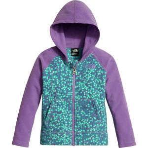 The North Face Glacier Hooded Fleece Jacket - Toddler Girls'