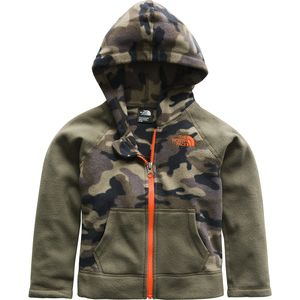 The North Face Glacier Hooded Fleece Jacket - Toddler Boys'