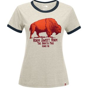 The North Face Mascot Ringer T-Shirt - Short-Sleeve - Women's