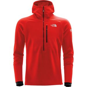 The North Face Summit L2 FuseForm Grid Fleece Hooded 1/2-Zip Jacket - Men's