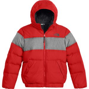The North Face Moondoggy 2.0 Down Hooded Fleece Jacket - Boys'