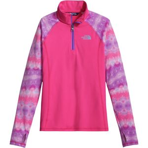 The North Face Pulse 1/4-Zip Pullover Sweatshirt - Girls'