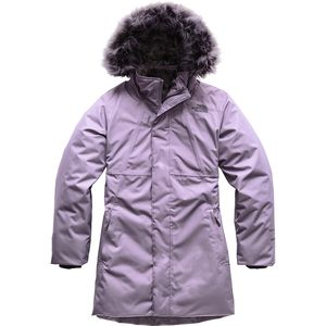 The North Face Arctic Swirl Hooded Down Jacket - Girls'