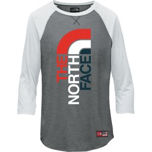 The North Face International Collection Tri-Blend 3/4-Sleeve T-Shirt - Girls'