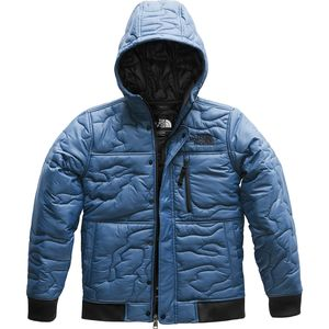 The North Face Camo Quilt Insulated Hoodie - Boys'