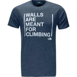 The North Face Walls Short-Sleeve Tri-Blend T-Shirt - Men's