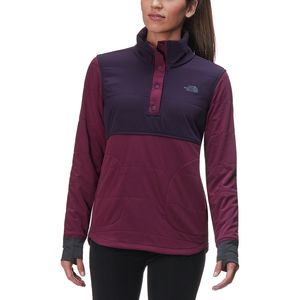 The North Face Mountain 1/4-Snap Sweatshirt - Women's