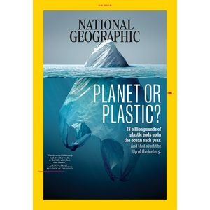 The North Face June Issue of National Geographic Magazine Looks in Depth at How Single-Use Plastics Impact Our Planet