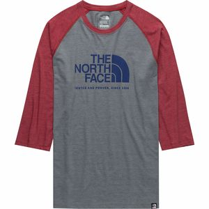 The North Face Americana 3/4 Tri-Blend Baseball T-Shirt - Men's