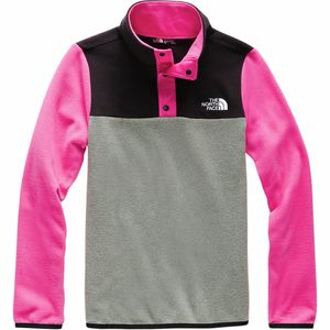 The North Face Glacier 1/4-Snap Fleece Jacket - Girls'