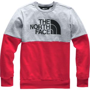 The North Face Terry Peak Colorblock Crew Sweatshirt - Boys'