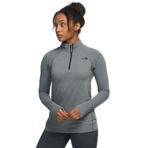 The North Face Warm Wool Blend Zip-Neck Top - Women's