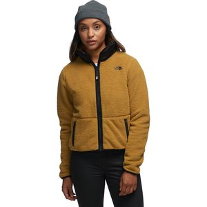 The North Face Dunraven Sherpa Crop Jacket - Women's