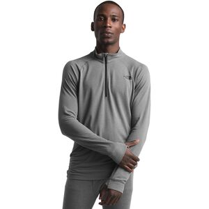 The North Face Warm Wool Blend Zip Neck Top - Men's
