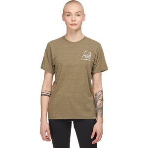 The North Face Logo Marks Triblend Short-Sleeve T-Shirt - Women's